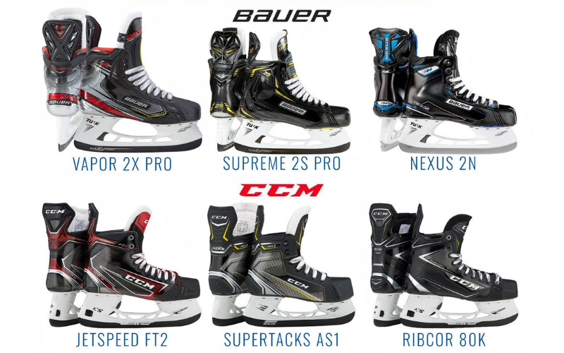 CCM Vs Bauer Hockey Skates - Honest Hockey