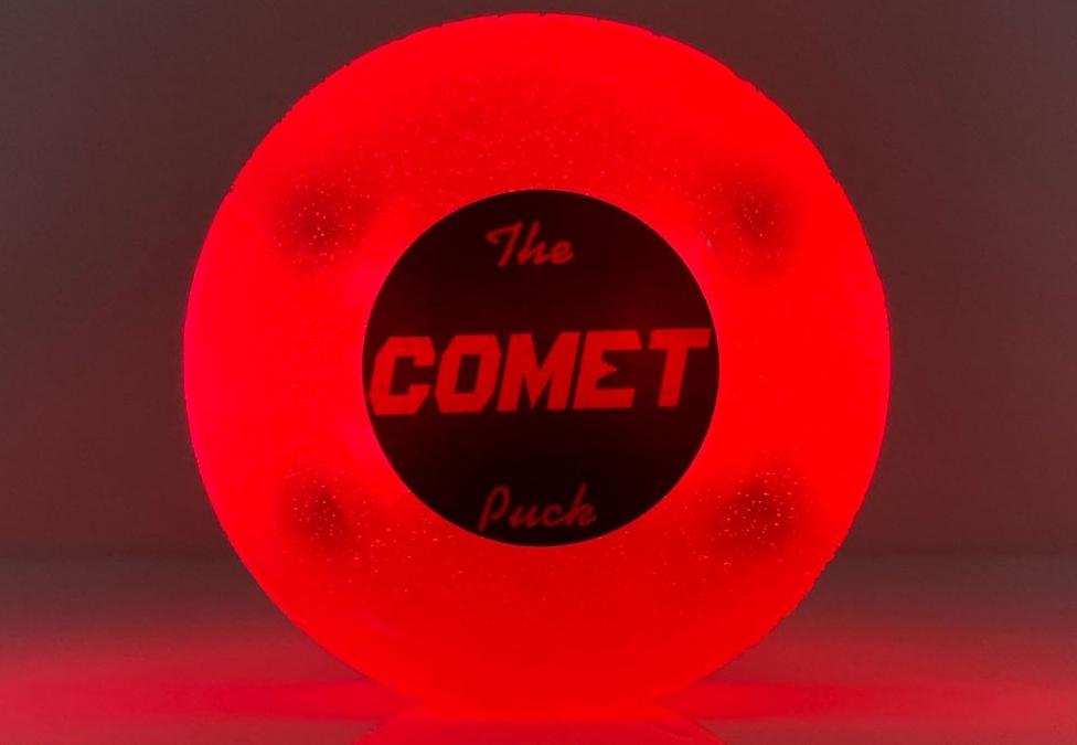 Comet Hockey Puck