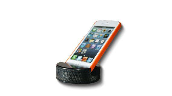 Hockey Puck Phone Stand