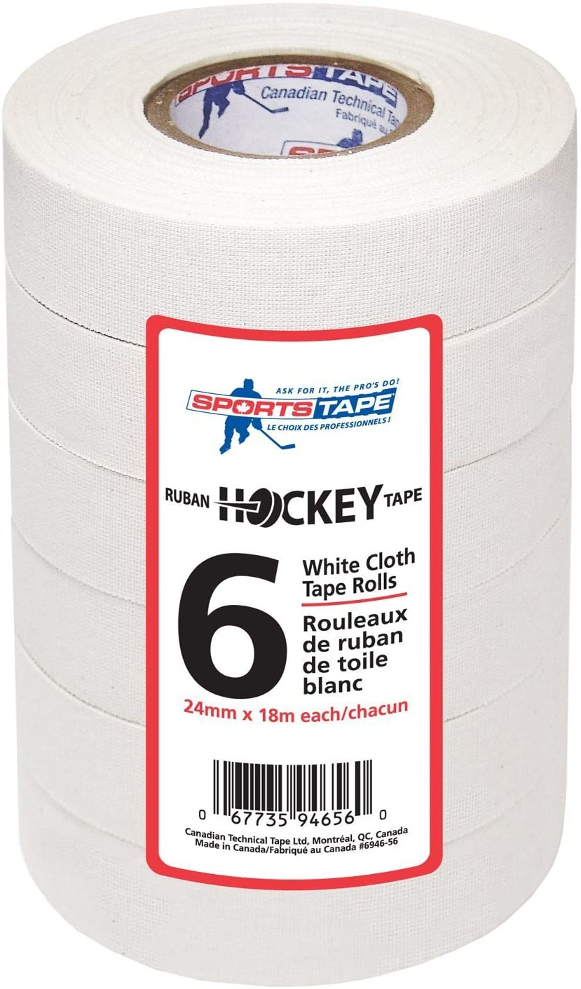 Ruban De Hockey Utilis/é Par Les Athl/ètes Professionnels Sport Tape Hockey Stick Tape Hockey Sur Glace /Équipement De Protection Queue Bande Antid/érapante Athletic Sports Tape Strong Adhesive Tape