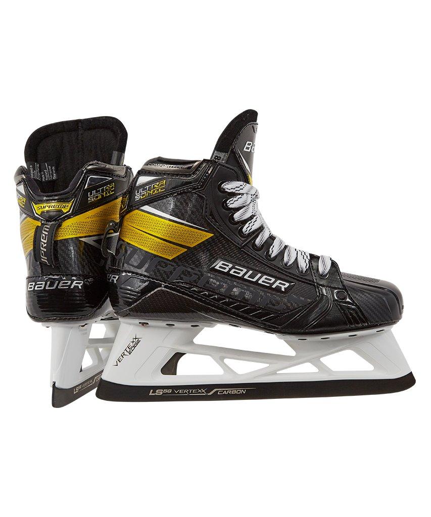 bauer ultrasonic goalie skates review
