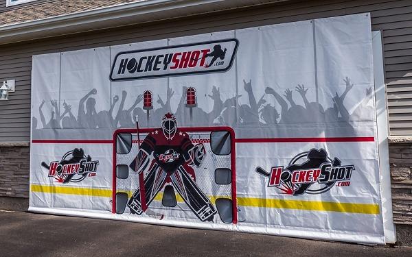 HockeyShot crowd goes wild tarp