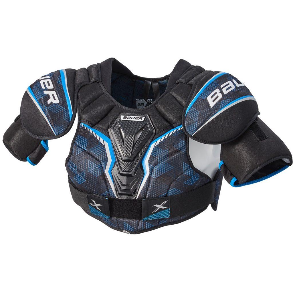 bauer x shoulder pads review